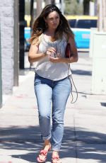 KELLY BROOK in Jeans Out and About in Los Angeles