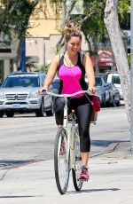 KELLY BROOK in Tightsi Out and About in West Hollywood