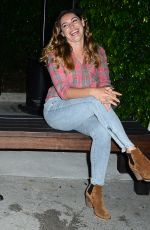 KELLY BROOK Night Out in Los Angeles