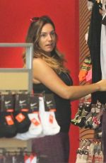 KELLY BROOK Out Shopping in West Hollywood