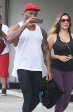 KELLY NROOK Leaves a Gym in West Hollywood