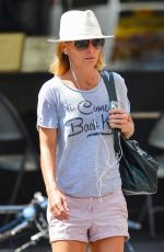 KELLY RIPA in Shorts Out and About in New York