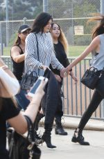KENDALL and KYLIE JENNER at Chris Brown and Quincy Kick
