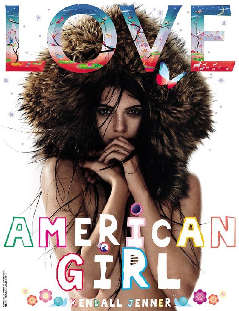 KENDALL JENNER in Love Magazine, Autumn/Winter 2014