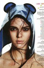 KENDALL JENNER in Love Magazine