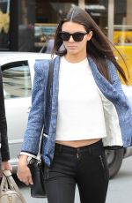 KENDALL JENNER Out and About in Paris