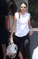 KENDALL JENNER Out Shopping at Fred Segal in West Hollywood
