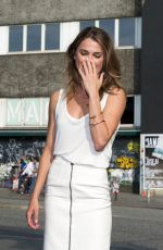 KERI RUSSEL at Dawn of the Planet of the Apes Photocall in Madrid