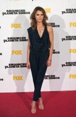 KERI RUSSEL at Dawn of the Planet of the Apes Premiere in Madrid