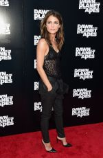 KERI RUSSELL at Dawn of the Planet of the Apes Premiere in New York