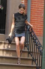 KERI RUSSELL Leaves Her Home in Brooklyn