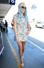KESHA Arrives at LAX Airport in Los Angeles