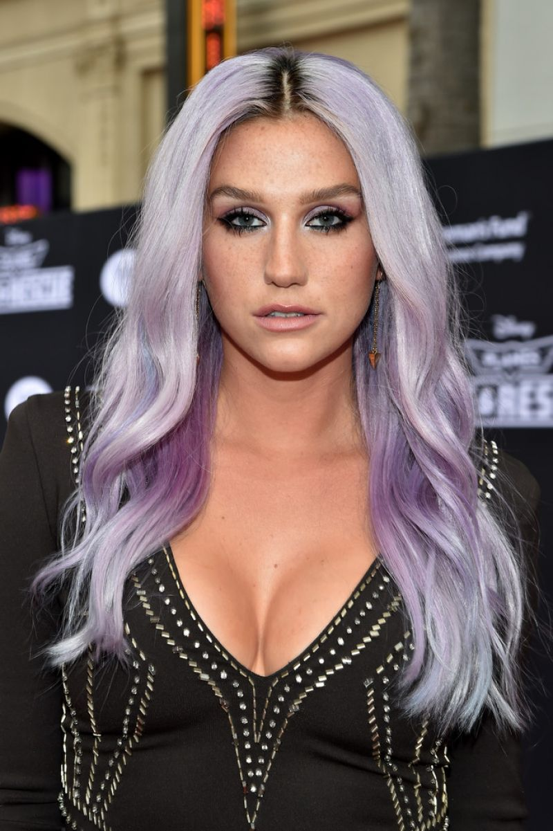 KESHA at Planes: Fire and Rescue Premiere in Hollywood