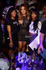 KHLOE KARDASHIA Celebrates Her 30th Birthday at Tao Nightclub in Las Vegas