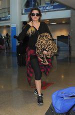 KHLOE KARDASHIAN Arrives at Los Angeles International Airport