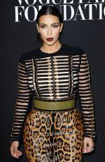 KIM KARDASHIAN at Vogue Foundation Gala