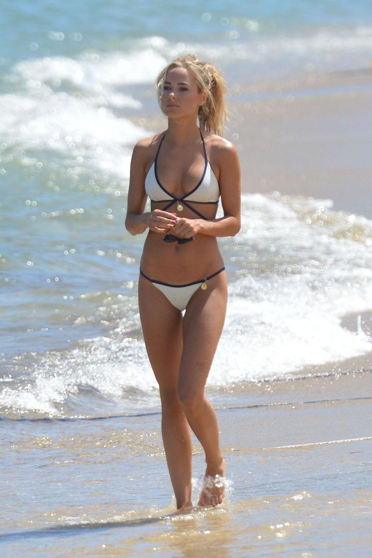 Kimberley Garner In Bikini At A Beach In St Tropez