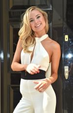 KIMBERLEY GARNER Out and About in Mayfair