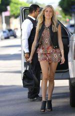 KKRISTIN CAVALLARI Arrives at Jose Eber Salon in Beverly Hills