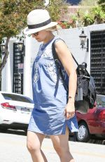 KRISTEN BELL Out and About in Beverly Hills