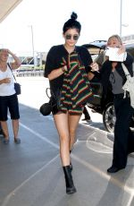 KYLIE JENNER at Los Angeles International Airport