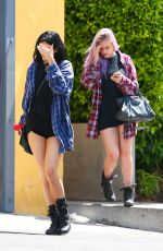 KYLIE JENNER in Shorts Out in Calabasas
