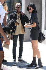 KYLIE JENNER Out for Lunch in West Hollywood
