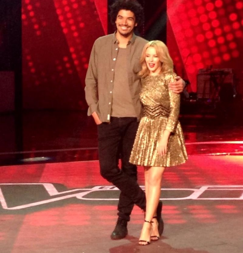 KYLIE MINOGUE at The Voice Final Five Media Call