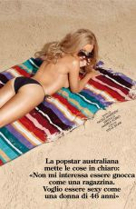 KYLIE MINOGUE in GQ Magazine, Italy August 2014 Issue