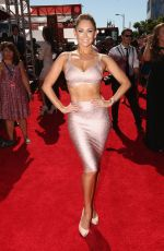 KYM JOHNSON at 2014 ESPYS Awards in Los Angeles
