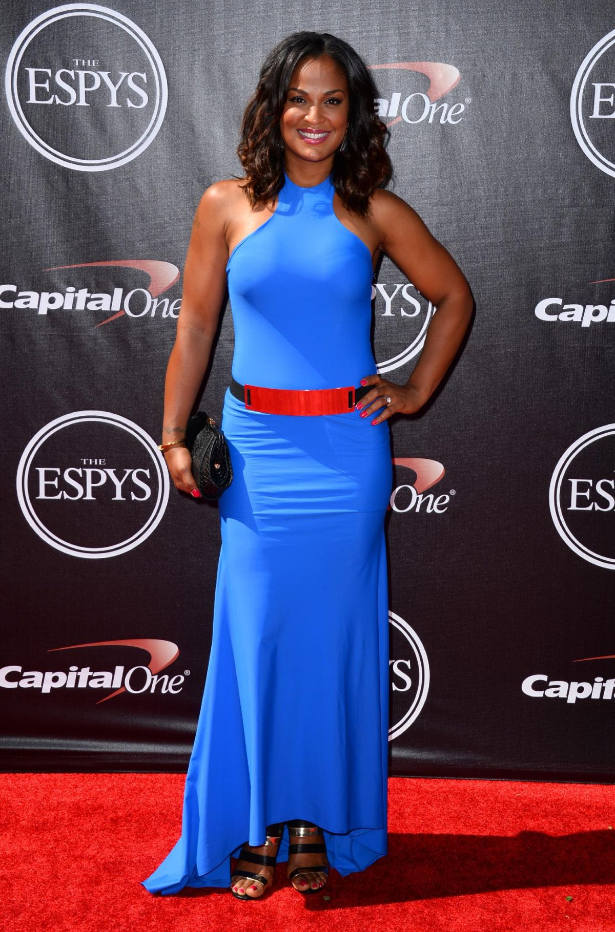 LAILA ALI at 2014 ESPYS Awards in Los Angeles