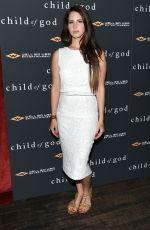 LANA DEL REY at Child of God Premiere in New York