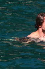 LANA DEL REY in Bikini on Vacation in Italy