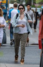 LAURA PREPON Out and About in New York