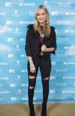LAURA WHITMORE at MTV Crashes Plymouth at Plymouth Hoe