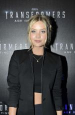 LAURA WHITMORE at Transformers 4: Age of Extinction Premiere in Dublin