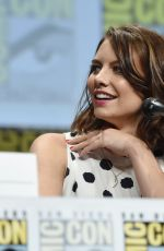 LAUREN COHAN at The Walking Dead Panel at Comic-con in San Diego
