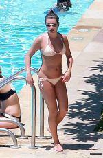 LEA MICHELE in Bikini at a Pool in Santa Barbara