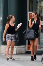 LEA MICHELE Out and About in New York 2407