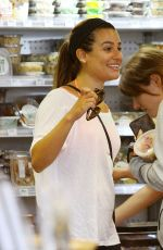 LEA MICHELE Out Shopping in Los Angeles 0207