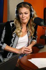 LEANN RIMES at SiriusXM Studios in New York