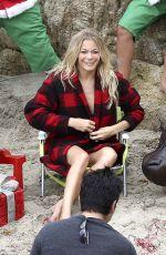 LEANN RIMES in Bikini at a Photoshoot in Malibu