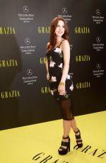 LENA MEYER-LANDRUT at Mercedes-Benz Fashion Week Opening Night in Berlin
