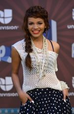 LESLIE GRACE at Premios Juventud 2014 in Coral Gables