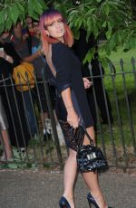 LILY ALLEN at Serpentine Gallery Summer Party in London
