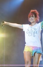 LILY ALLEN Performs at Latitude Festival