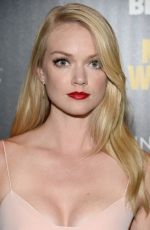 LINDSAY ELLINGSON at A Most Wanted Man Premiere in New York