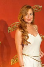 LINDSAY LOHAN at the Wwhite Party in Austria