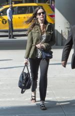 LIV TYLER at JFK Airport in New York