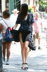 LIV TYLER Out in New York